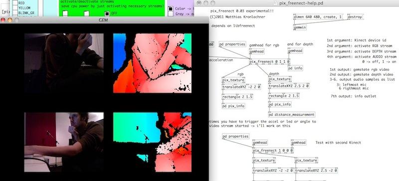 pd-external: pix_freenect 0 10 | matthiaskronlachner com