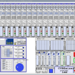 full featured mixing console with 3d spatialisation capabilities